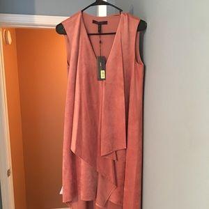 Burnt orange bcbg dress